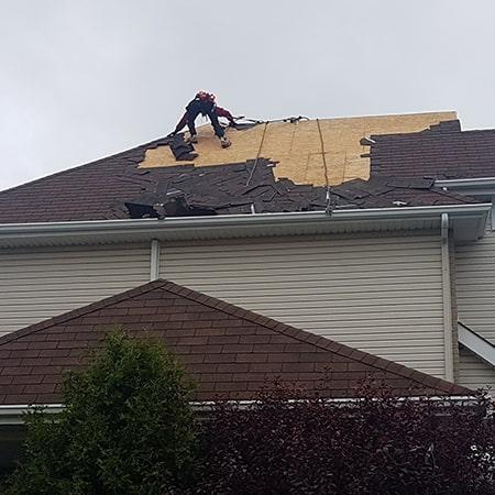Réparation toiture Vaudreuil-Dorion
